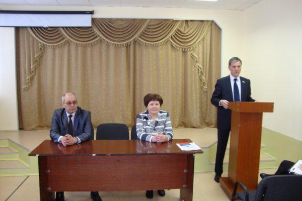 Выездное заседание Клуба молодого избирателя 27 марта 2014 г.