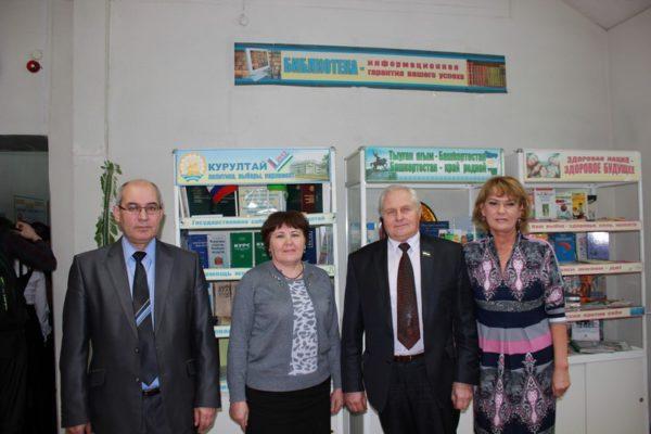 Встреча с депутатом Государственного Собрания – Курултая Республики Башкортостан в День Конституции республики