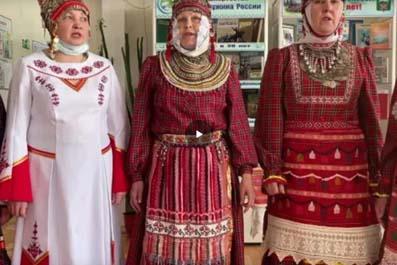 Исторический экскурс «Историческая память – символика костюма» Ко Дню национального костюма